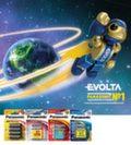 Щелочные элементы питания Panasonic 2012